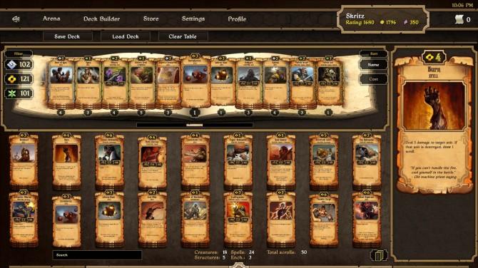Scrolls-deck-creation