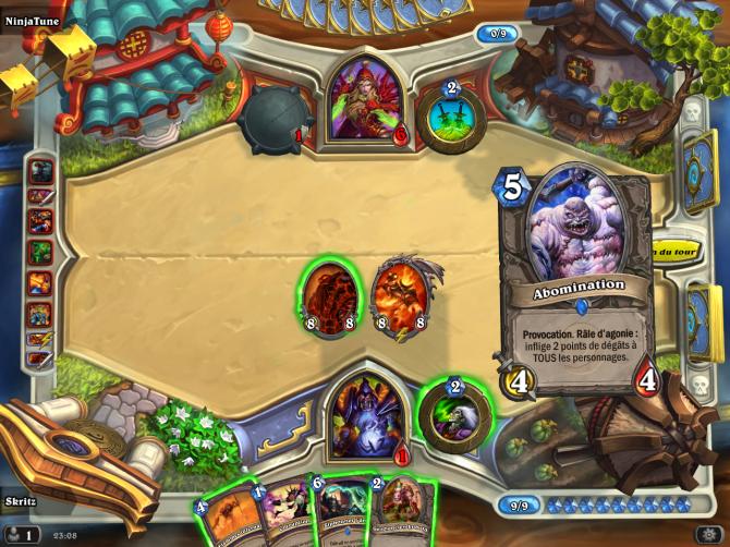 Hearthstone : Card advantage, Board advantage, Tempo et Agression