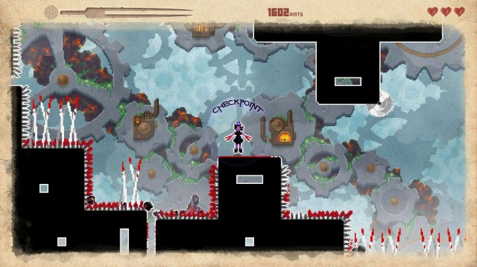 They Bleed Pixels : Checkpoint