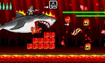 Angry video game nerd adventure : requin